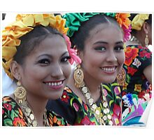 Beauties Of Oaxaca - Bellezas De Oaxaca Poster