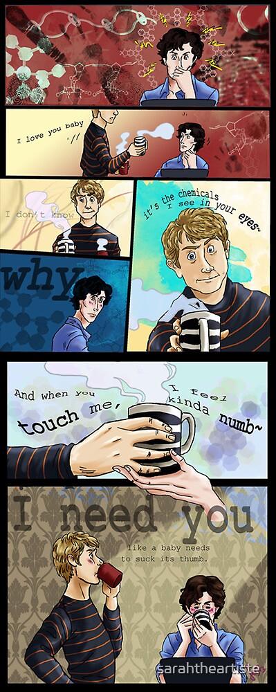 Can You Believe It--Sherlock by sarahtheartiste