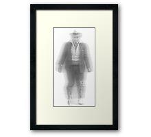 Ghost (old man) Framed Print