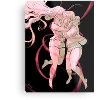 Pink Ribbon Metal Print