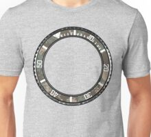 submariner style bezel with camo pattern Unisex T-Shirt