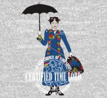Mary Poppins is a Time Lord Kids Clothes