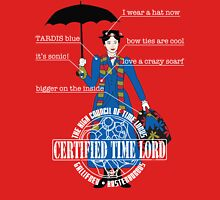 Mary Poppins is a Time Lord Womens Fitted T-Shirt
