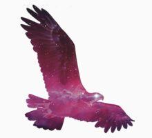 Eagle Spirit - purple  Kids Tee