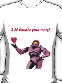 """Donut """"I'll handle your rears!"""" Tee T-Shirt"""