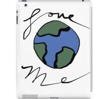 Love me (mother earth) iPad Case/Skin