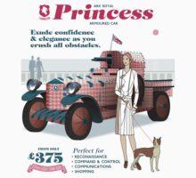 Lamington Ark Royal Princess - white Kids Tee