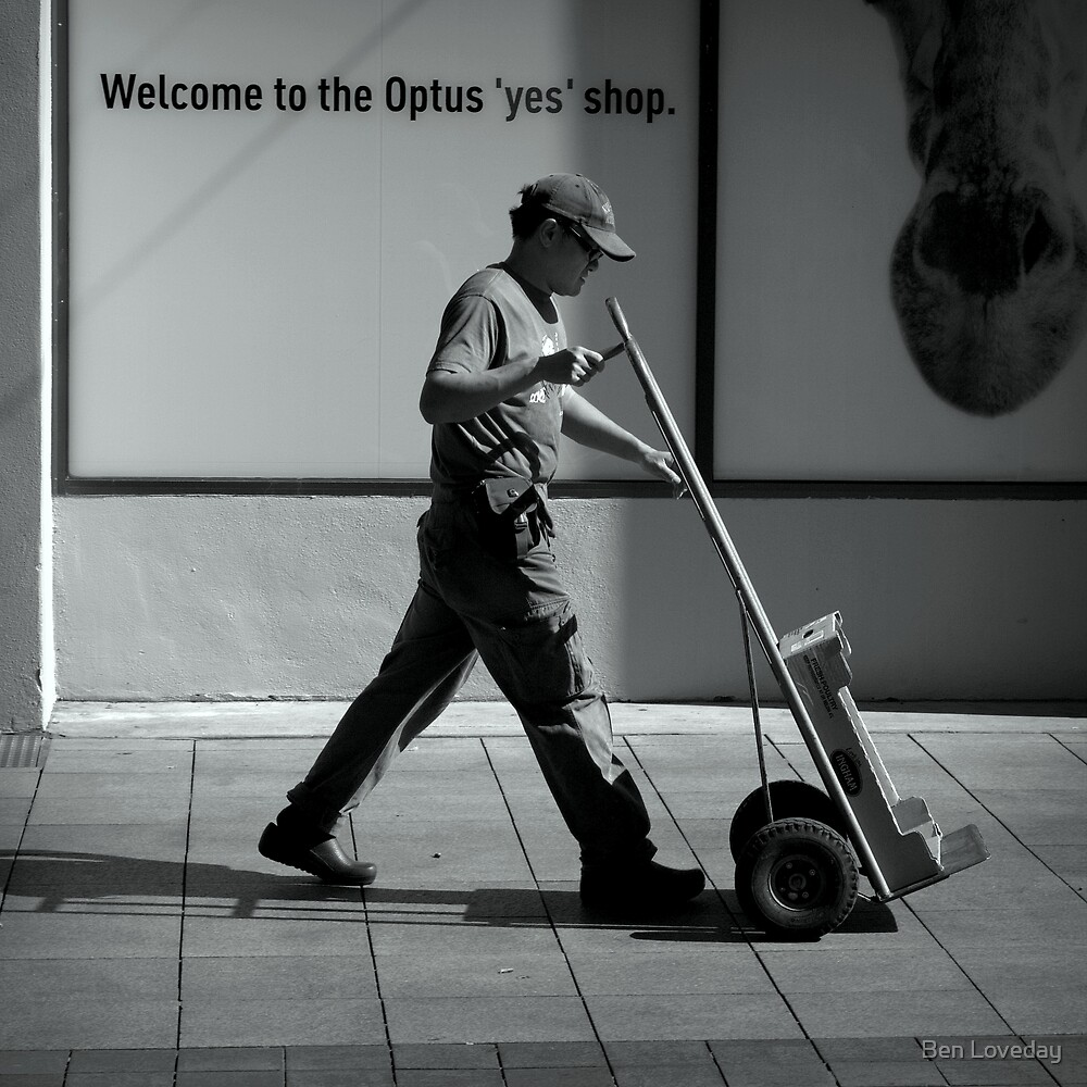 The Yes Man by Ben Loveday