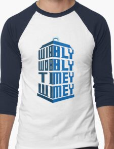 Wibbly wobbly Men's Baseball ¾ T-Shirt