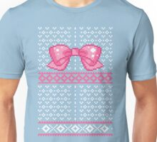 8bit Fair Isle Bow Unisex T-Shirt