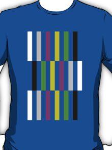 Sheldon Cooper's Color Bars T-Shirt