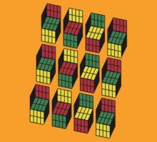 Sheldon Cooper Rubik's Cubes by KDGrafx