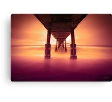 Pacifica Pier LTE Canvas Print