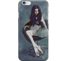 Ask Alice - Conceptual Portrait Art  iPhone Case/Skin