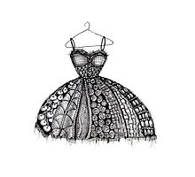 The dress Photographic Print