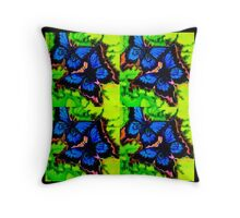 Eight ulysses Throw Pillow