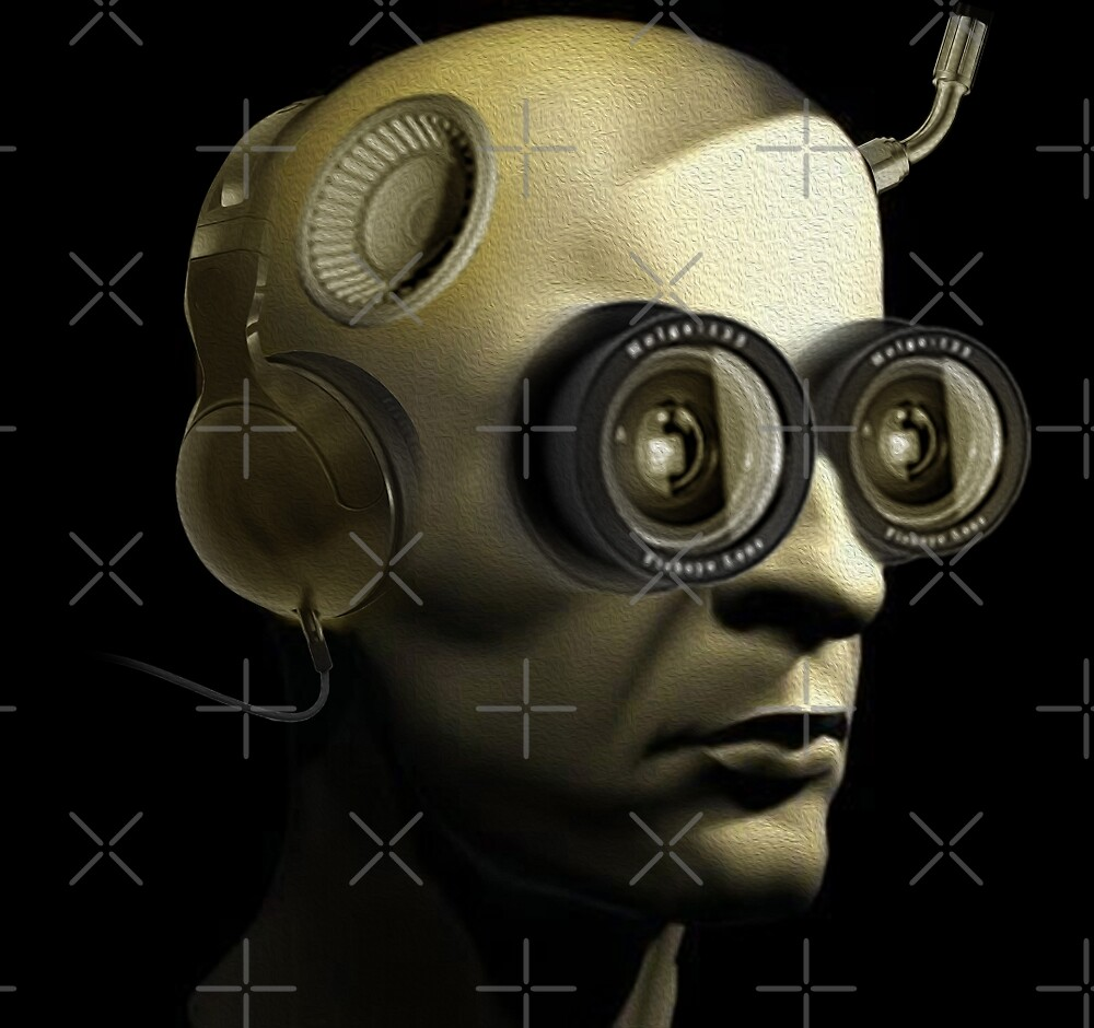 Human Cyborg 3001 by Vin  Zzep