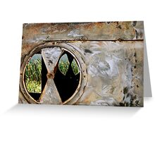 Layered Rustiness Greeting Card