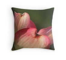 Petals of Pink Throw Pillow
