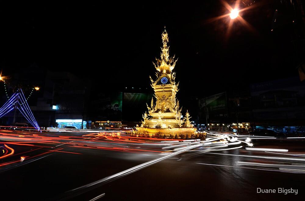 Clock Tower, Chiang Rai by Duane Bigsby