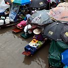 Floating Market, Thailand by Duane Bigsby