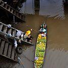 Floating Market Fruit Seller, Thailand by Duane Bigsby