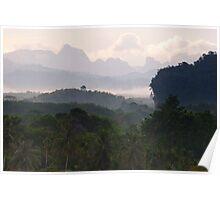 Kao Sok, Thailand Landscape Poster