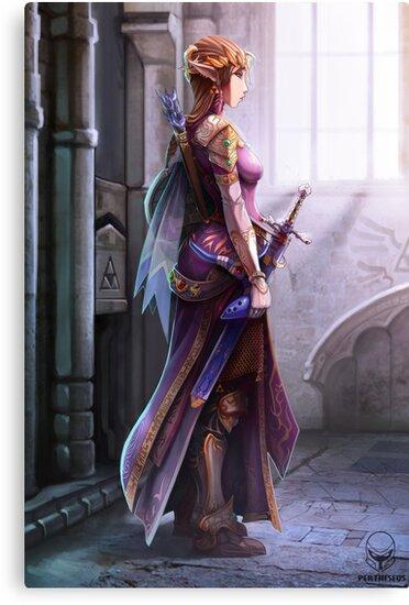 The Princess by pertheseus