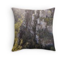 Alum Cliffs, Mole Creek, Tasmania, Australia Throw Pillow