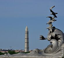 The Navy-Merchant Marine Memorial - Arlington, Virginia by Matsumoto