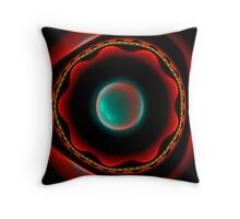 Hex Glow Throw Pillow