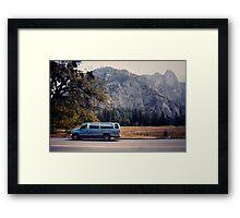 Yosemite vans Framed Print
