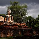 Stormy Buddah, Sukothai by Duane Bigsby