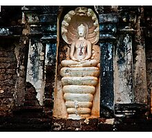 Snake Goddess Photographic Print