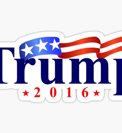 Trump 2016 Sticker