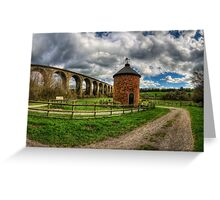 Railway Viaduct Greeting Card