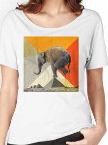 Balance of the Pyramids Women's Relaxed Fit T-Shirt