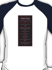 Fight Club - Welcome to Fight Club T-Shirt