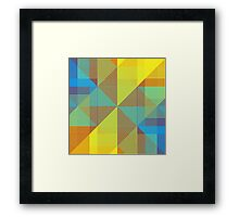 Quadrants Framed Print