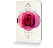 featured in fabulous flower Greeting Card
