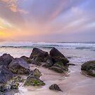 Rainbow Sunset Byron Bay by Cheryl Styles