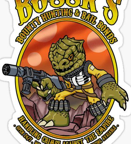 Bounty Hunting and Bail Bonds Sticker