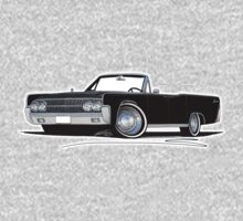 Lincoln Continental Convertible (1963) Black Kids Tee