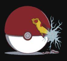 pikachu pokeball  by VirtualMan