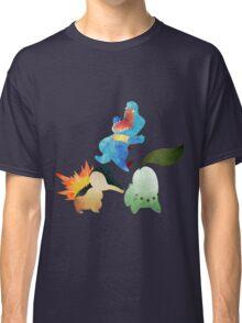 Johto Starters - Pokemon Classic T-Shirt