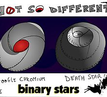 Binary Stars Editorial Cartoon by Binary-Options