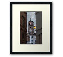 Dusk in Trastevere Framed Print