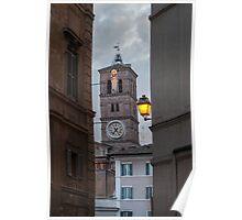 Dusk in Trastevere Poster