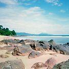 Phuket Beach Pinhole Panorama by Duane Bigsby