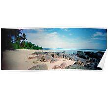 Phuket Beach Pinhole Panorama Poster